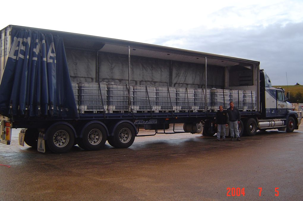 Riseleys depot at Leongatha. One of our storage depots for TNN products.